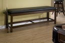CLASSIC BACKLESS STORAGE BENCH