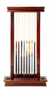 Wall Cue Rack