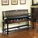 CLASSIC BACKED STORAGE BENCH